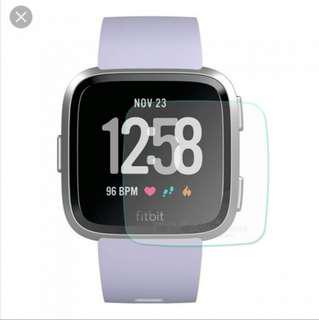 Fitbit Versa Tempered Glass Screen Protect Protector Premium Quality 1 piece