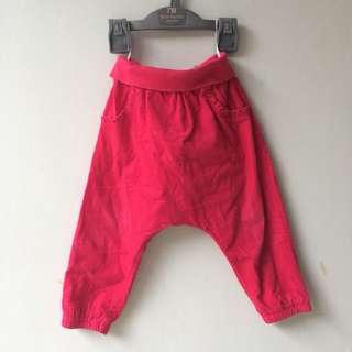 H&M Fuschia Pink Harem Pants celana anak preloved murah #maucoach
