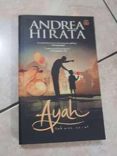 Buku novel Andrea Hirata 'Ayah: Sebuah Novel'