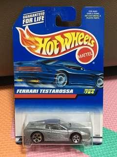 Hotwheels Ferrari Testarossa Silver