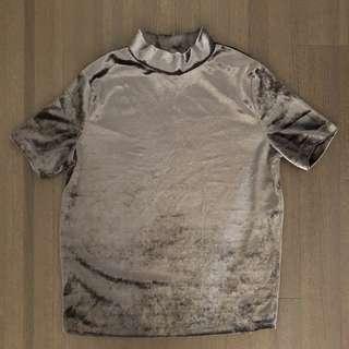 Zara Velvet Tshirt