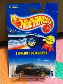 Hotwheels Ferrari Testarossa Shiny Black