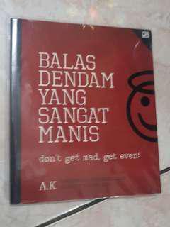 Buku A.K 'Balas Dendam Yang Sangat Manis'