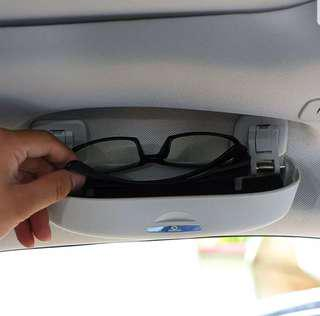 Sunglass or spectacle holder to replace grab handle