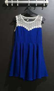 Laced Peplum dress #PRECNY60
