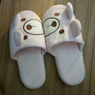 🚚 Bedroom Slippers bear pink