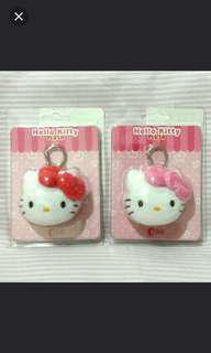 RED Hello Kitty ezlink plush charm