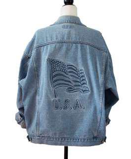 "Vintage ""USA"" Denim Jaket"