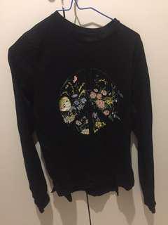 Peace flower shirt bought from Zalora