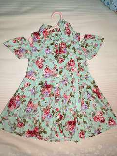 #maucoach preloved dress off shoulder flower