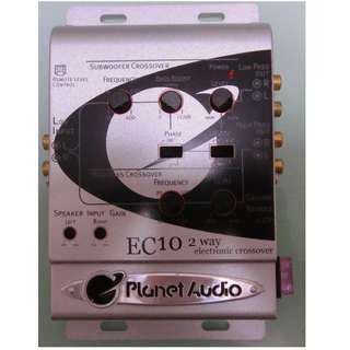 CROSSOVER EQ 10V O/P 全新EQ分音器+10V放大輸出