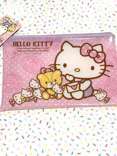 Sanrio hello kitty plastic pouch