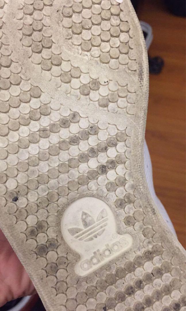 Adidas 魔鬼氈 真皮