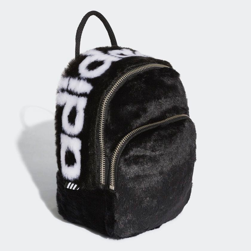 f5b469fe39 Adidas Originals Faux Fur MINI CLASSIC BACKPACK
