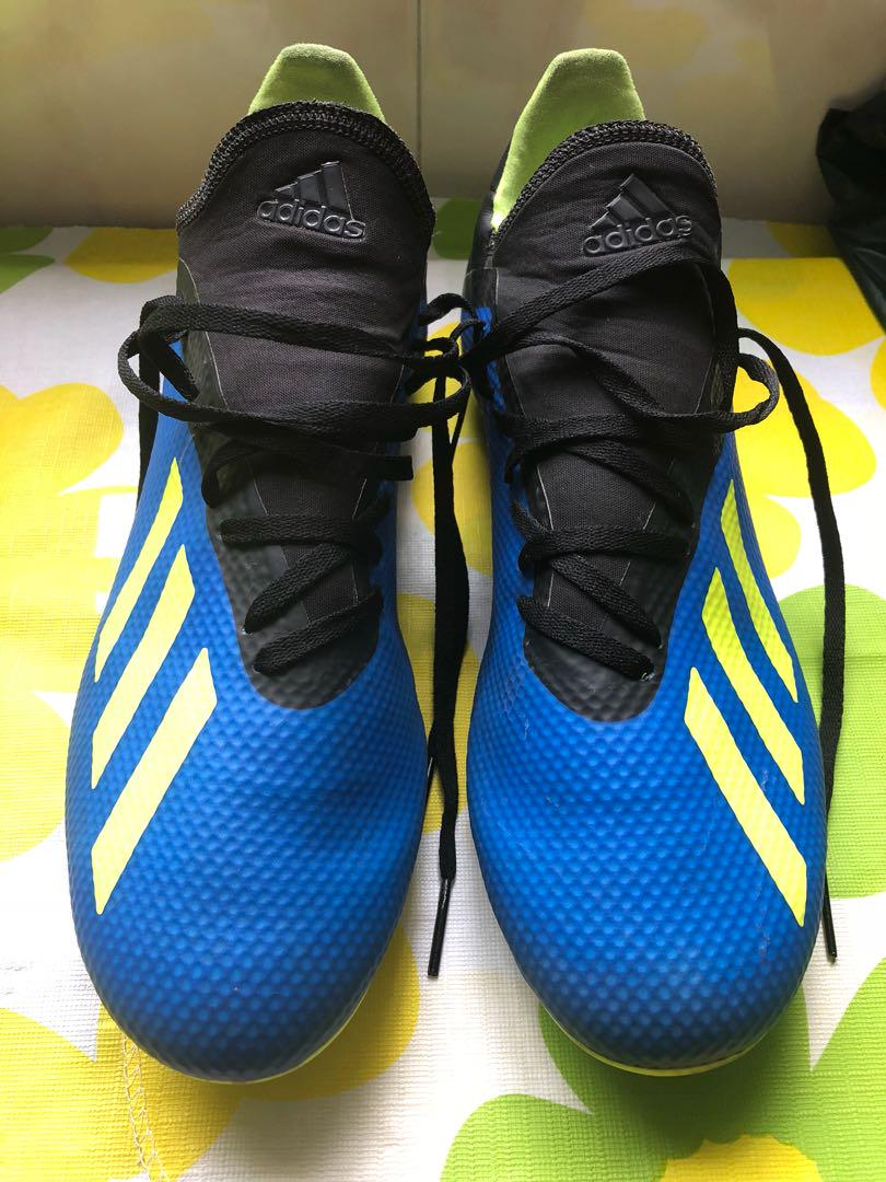 official photos 4cb53 1cb26 Adidas X18.3, Men's Fashion, Footwear, Boots on Carousell