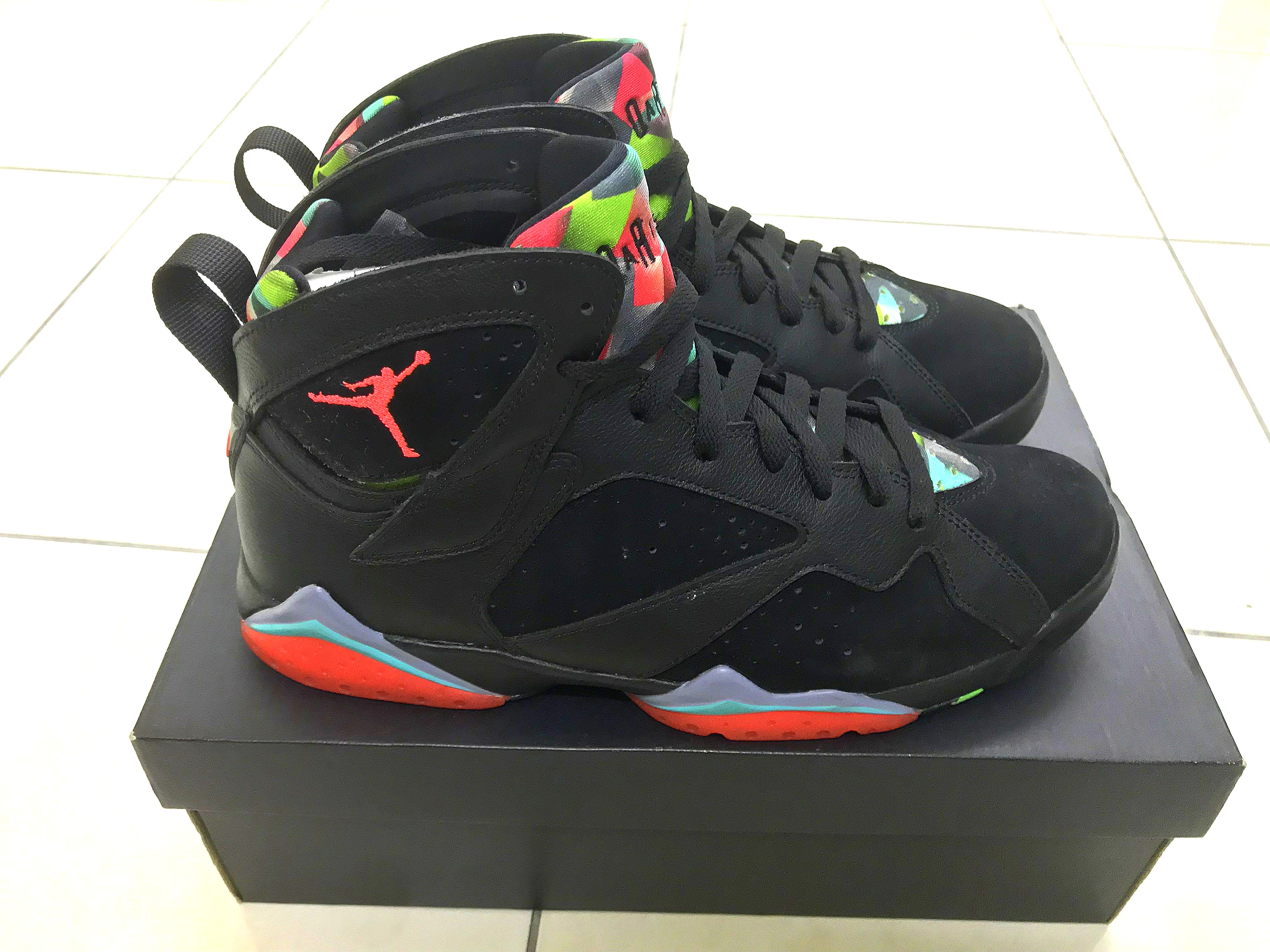 "best website 7c637 f7d10 Air Jordan 7 ""Barcelona Nights"", Men s Fashion, Footwear, Sneakers ..."
