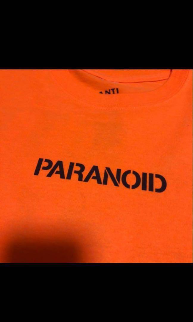 d1d73471ffc5 Anti Social Social Club Undefeated Paranoid Tee