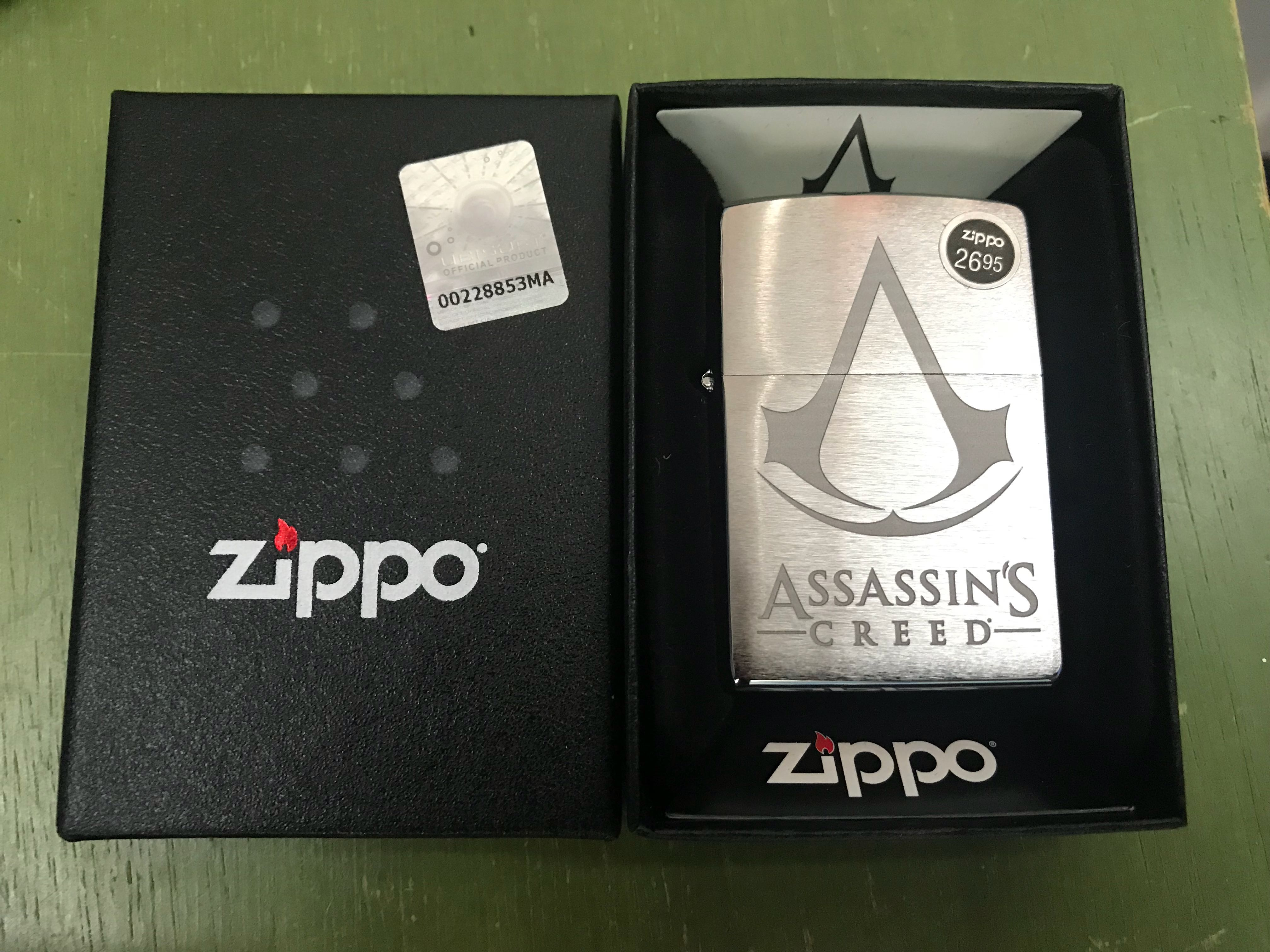 Assassin S Creed Zippo Everything Else On Carousell
