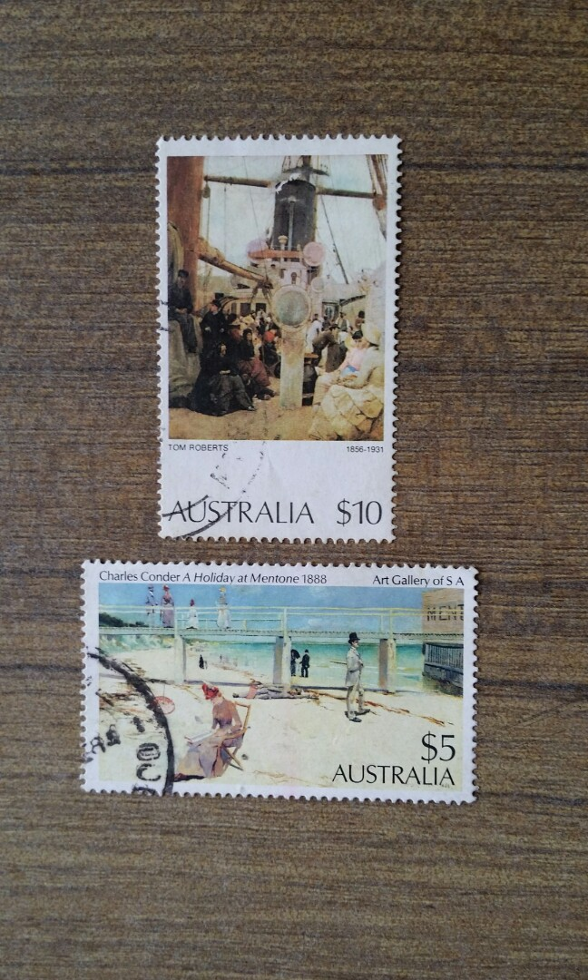Australia High Value stamps