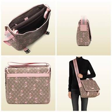 df38f9f3c67 Authentic Gucci Gg Zoo Birds Print Body Bag Luxury Bags Wallets