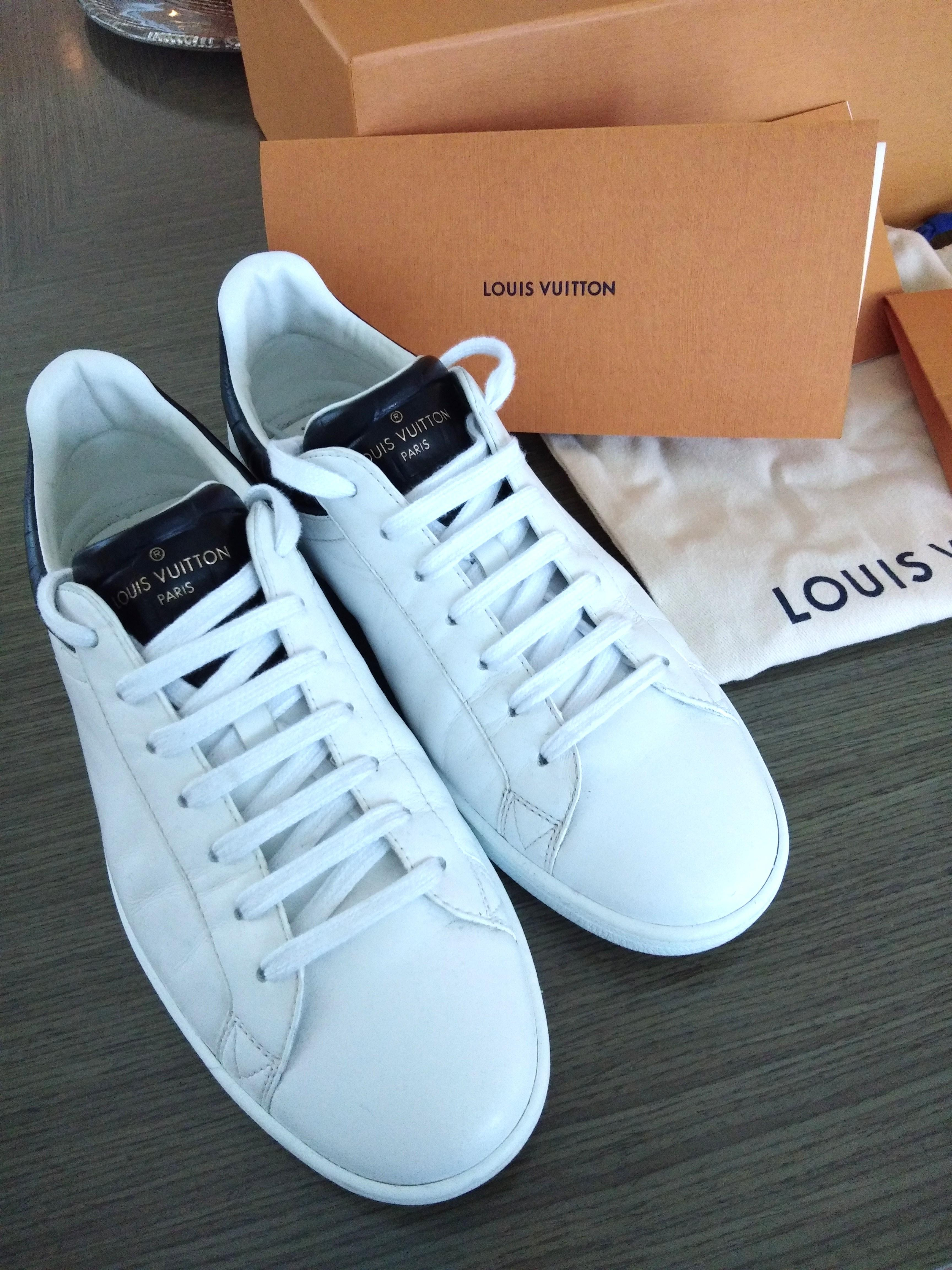 1f60a9cc61a Authentic LOUIS VUITTON LV Luxembourg Sneaker for Men on Carousell