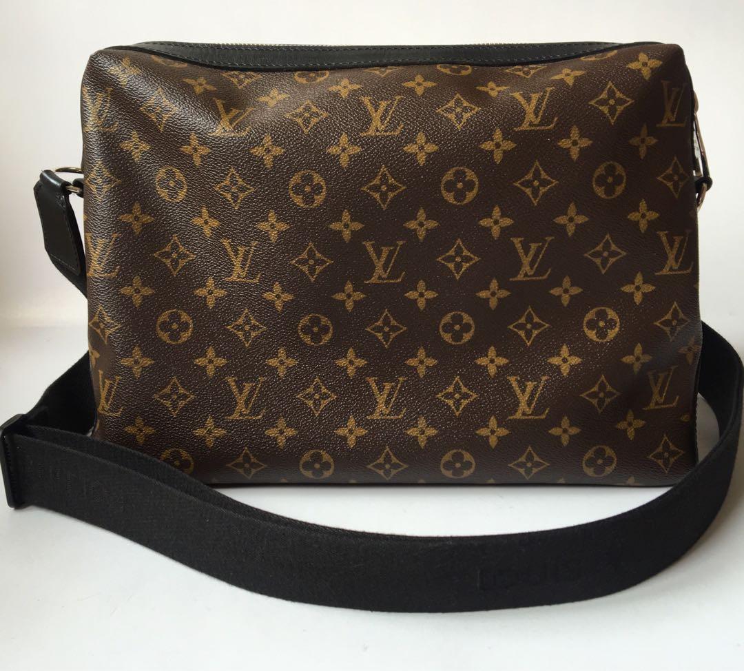 6006d4e37c9f Authentic Louis Vuitton Macassar Torres Messenger Bag