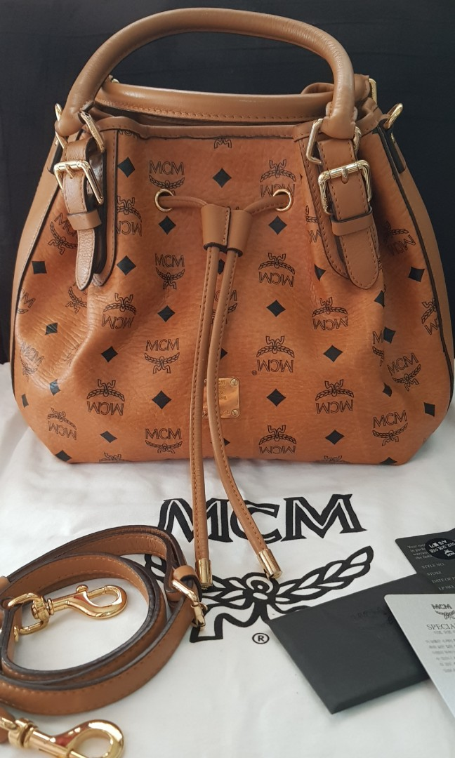 9ecff24f9d Authentic MCM two way bag