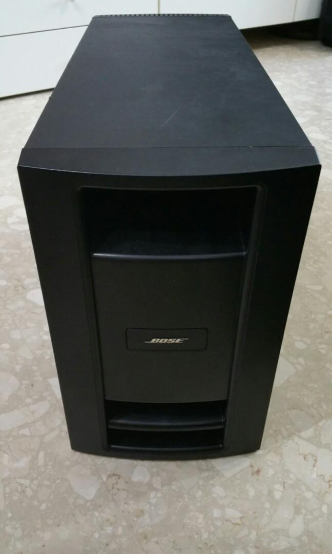 Bose Subwoofer Repair, Electronics, Audio on Carousell