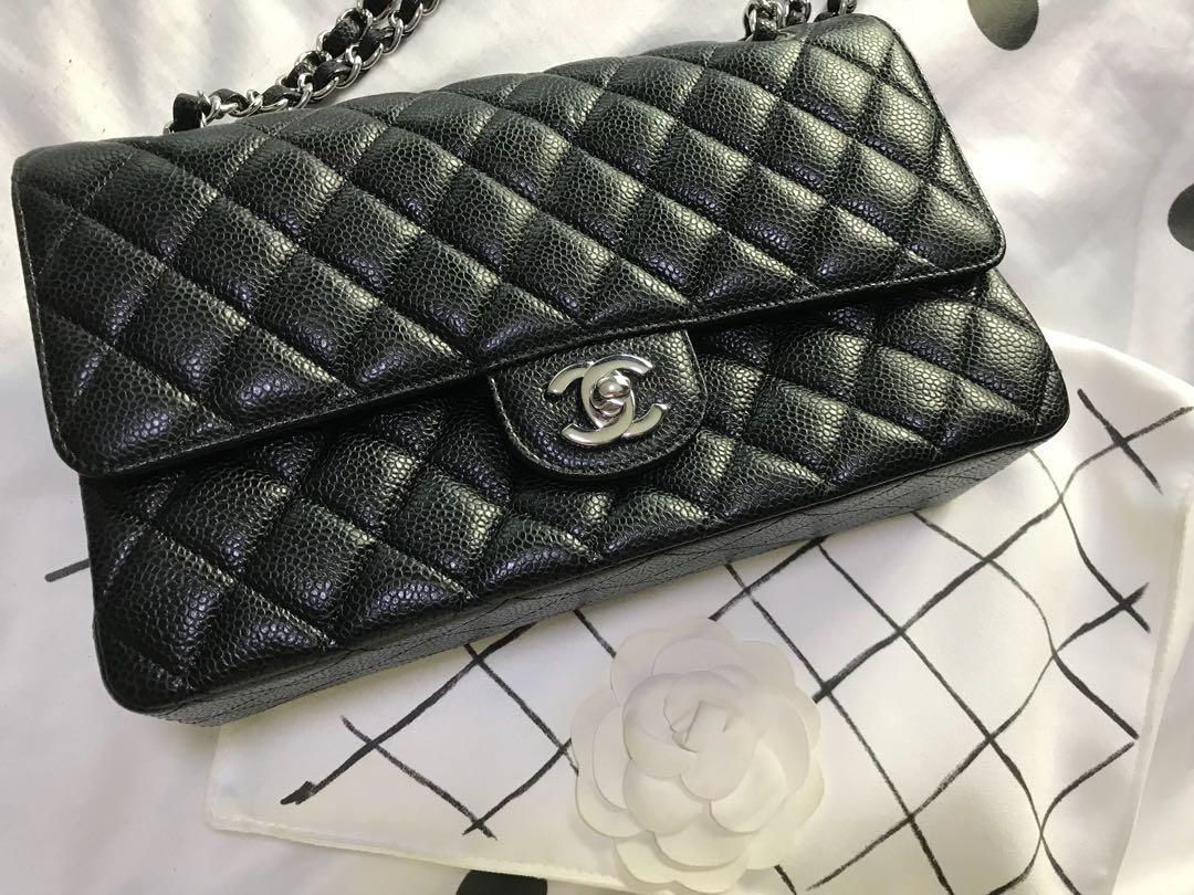 346a8be049c974 Chanel Classic Medium Caviar Handbag, Luxury, Bags & Wallets ...