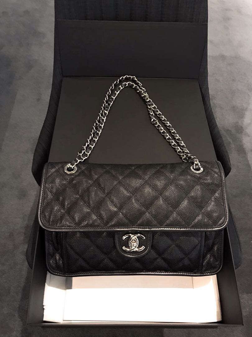 1cb1aac10fe8 Chanel French Riviera Flap, Luxury, Bags & Wallets, Handbags on Carousell
