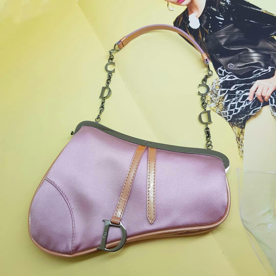 fa0f42bc800a Christian Dior Mini Saddle Bag