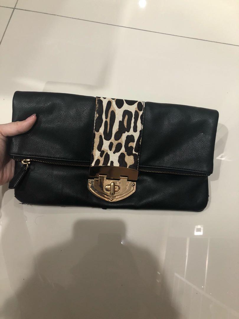 2496343c4b4 Clutch aldo tas pesta pouch leopard, Women's Fashion, Women's Bags ...