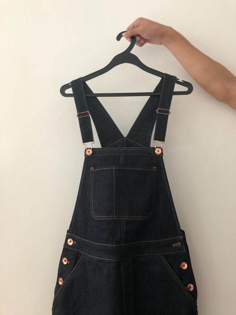 0d9a3fd908 Dark blue overalls, Women's Fashion, Clothes, Rompers & Jumpsuits on ...