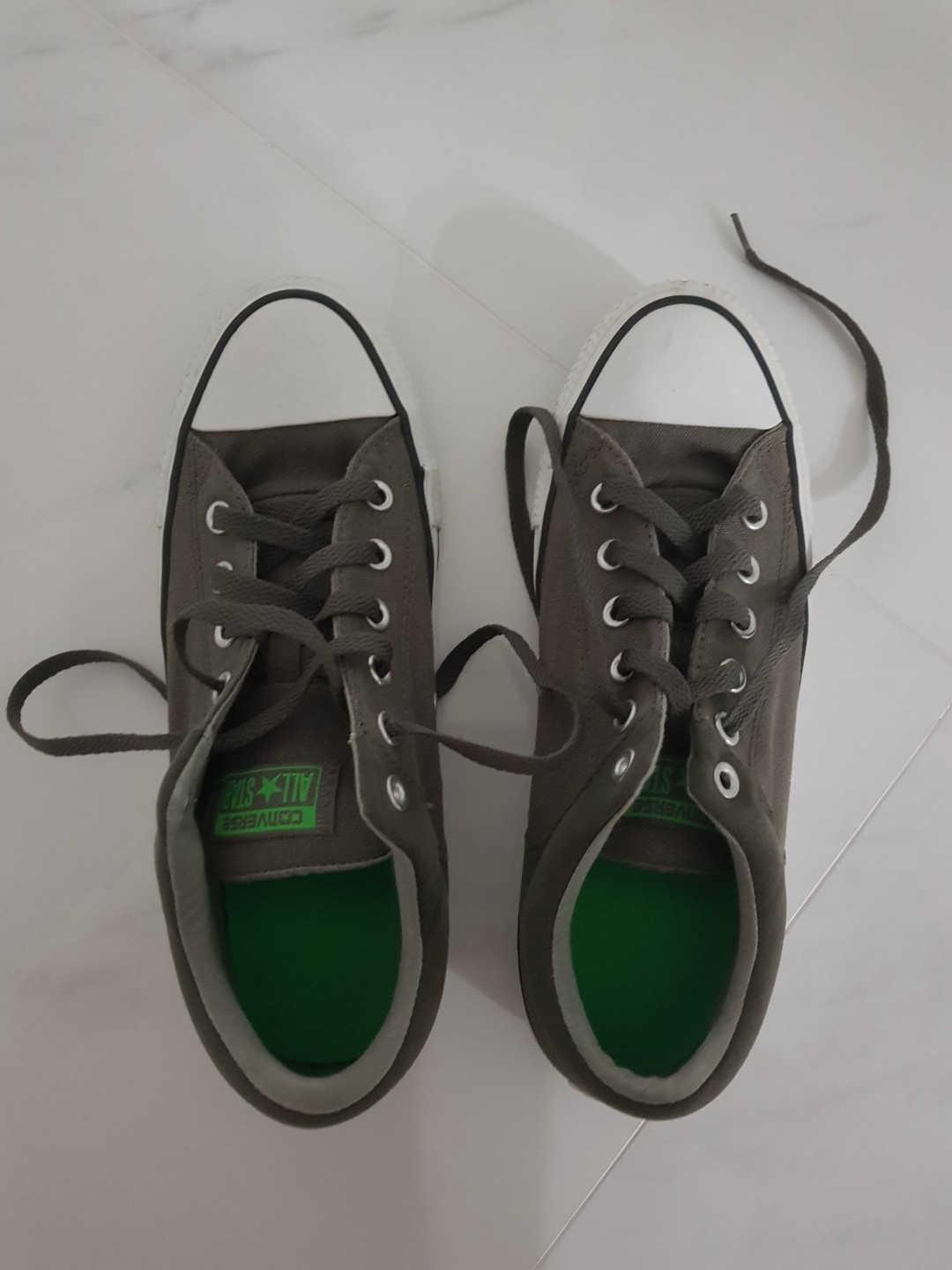 cf69c87e1f83 Dark Green Converse Shoes