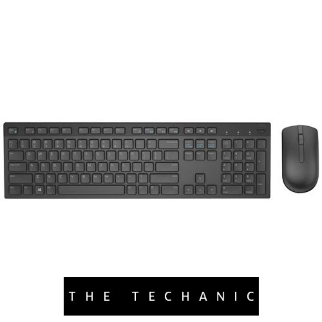 344bf27c220 DELL KM636 WIRELESS KEYBOARD & MOUSE COMBO BLACK, Electronics ...