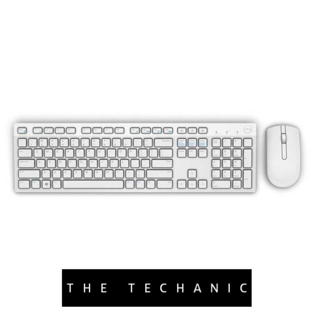 1be1be67040 DELL KM636 WIRELESS KEYBOARD & MOUSE COMBO WHITE, Electronics, Computer  Parts & Accessories on Carousell