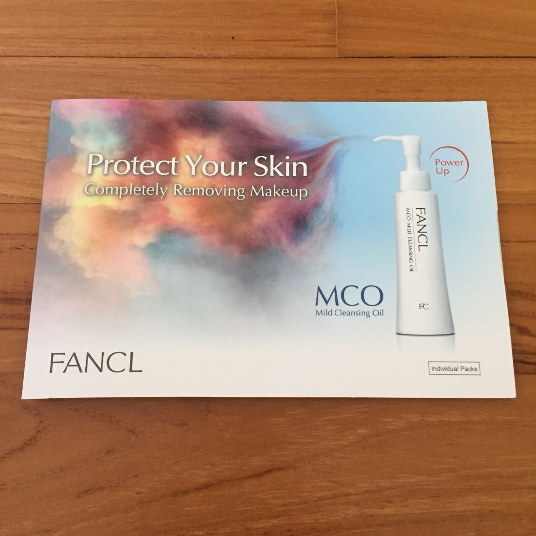 Fancl Mco Mild Cleansing Oil Health Beauty Face Skin Care On Biore 150ml Free In Sheet 2s Sample Carousell