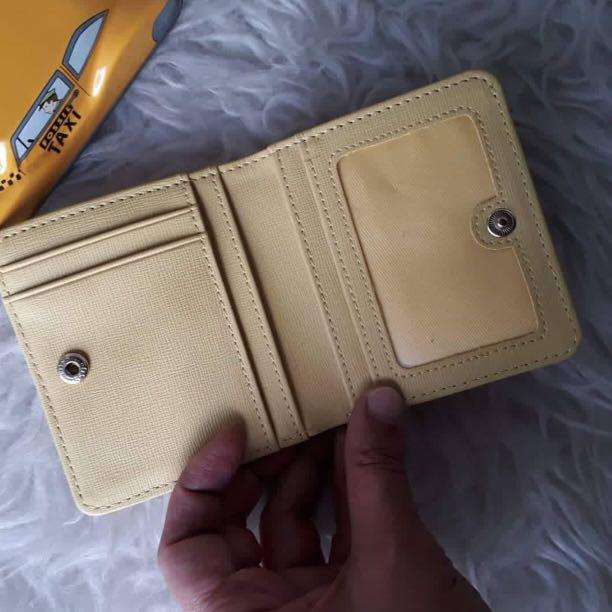 Fossil Yellow Wallet