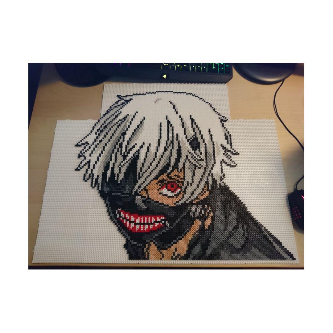 Tokyo Ghoul Anime Characters Hama designs, Design & Craft