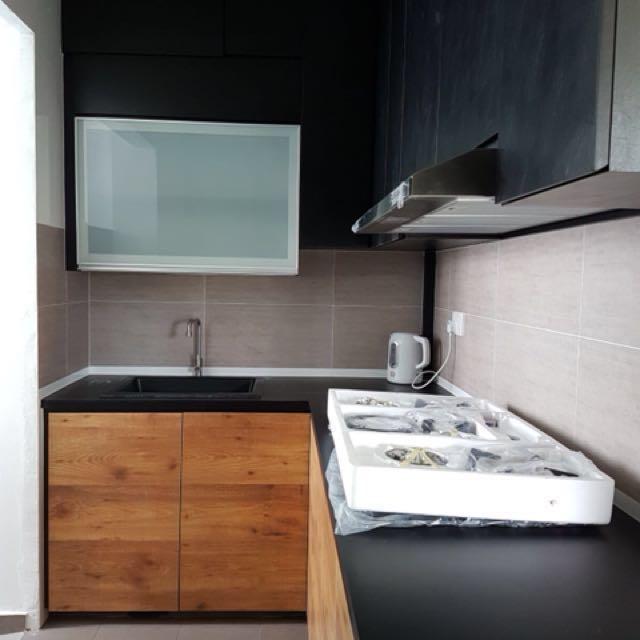 3 Room Hdb Kitchen Cabinet Design