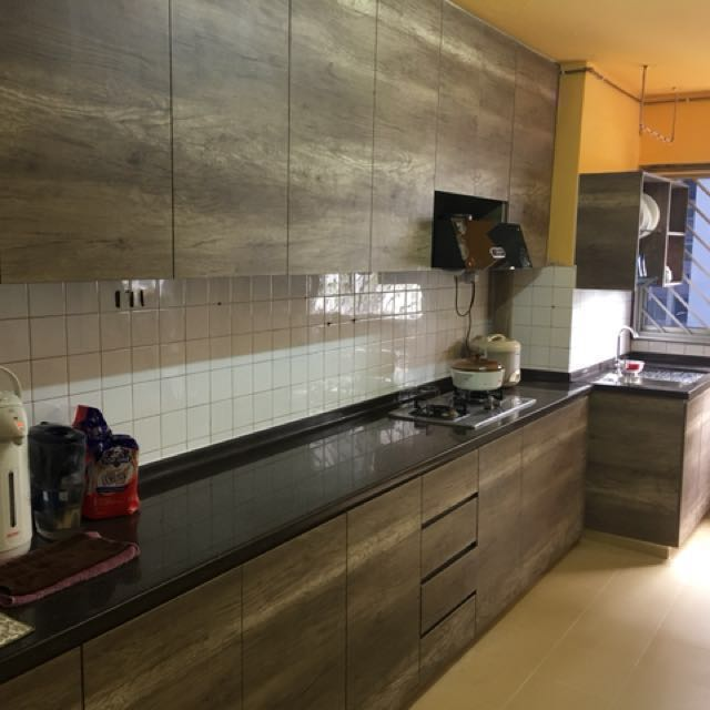 Hdb Resale Flat Hip Kitchen Renovations Package Furniture Home