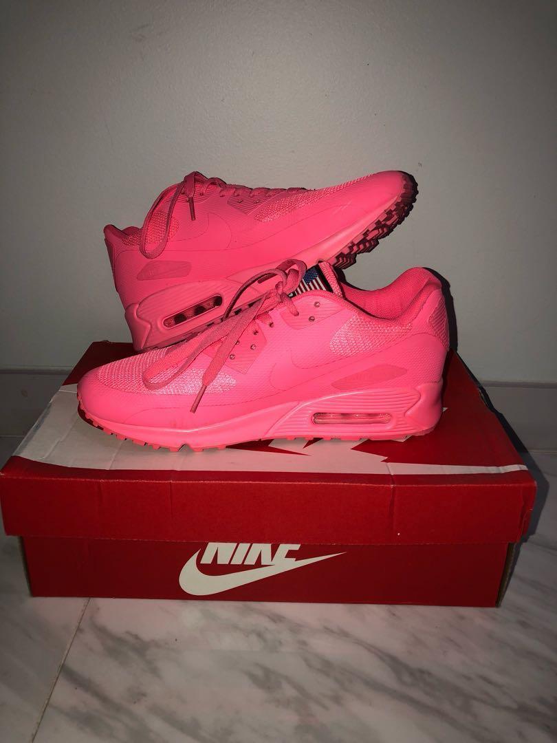 op Heet roze neon damesmode schoenen Max carrousel Air Nike pxfaw0xHq
