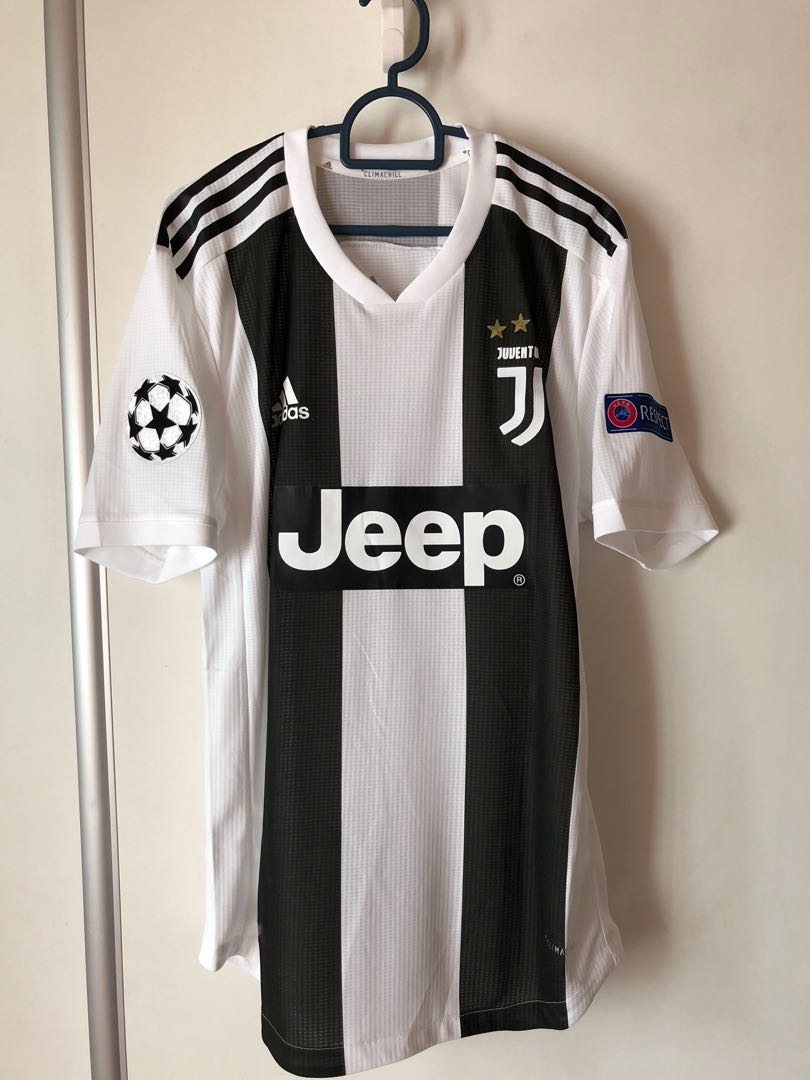 lowest price 7a807 dc71b Juventus Jersey 2018/19 (Player Issue) size L + RONALDO 7 nameset