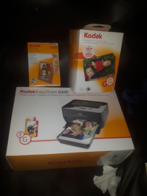 kodak easy share docking station printer plus accessories