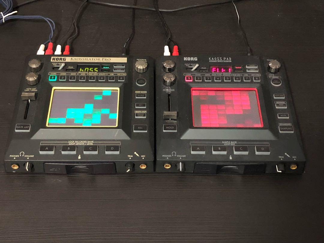 Korg Kaossilator Pro And Kaoss Pad 3 Music Media Music