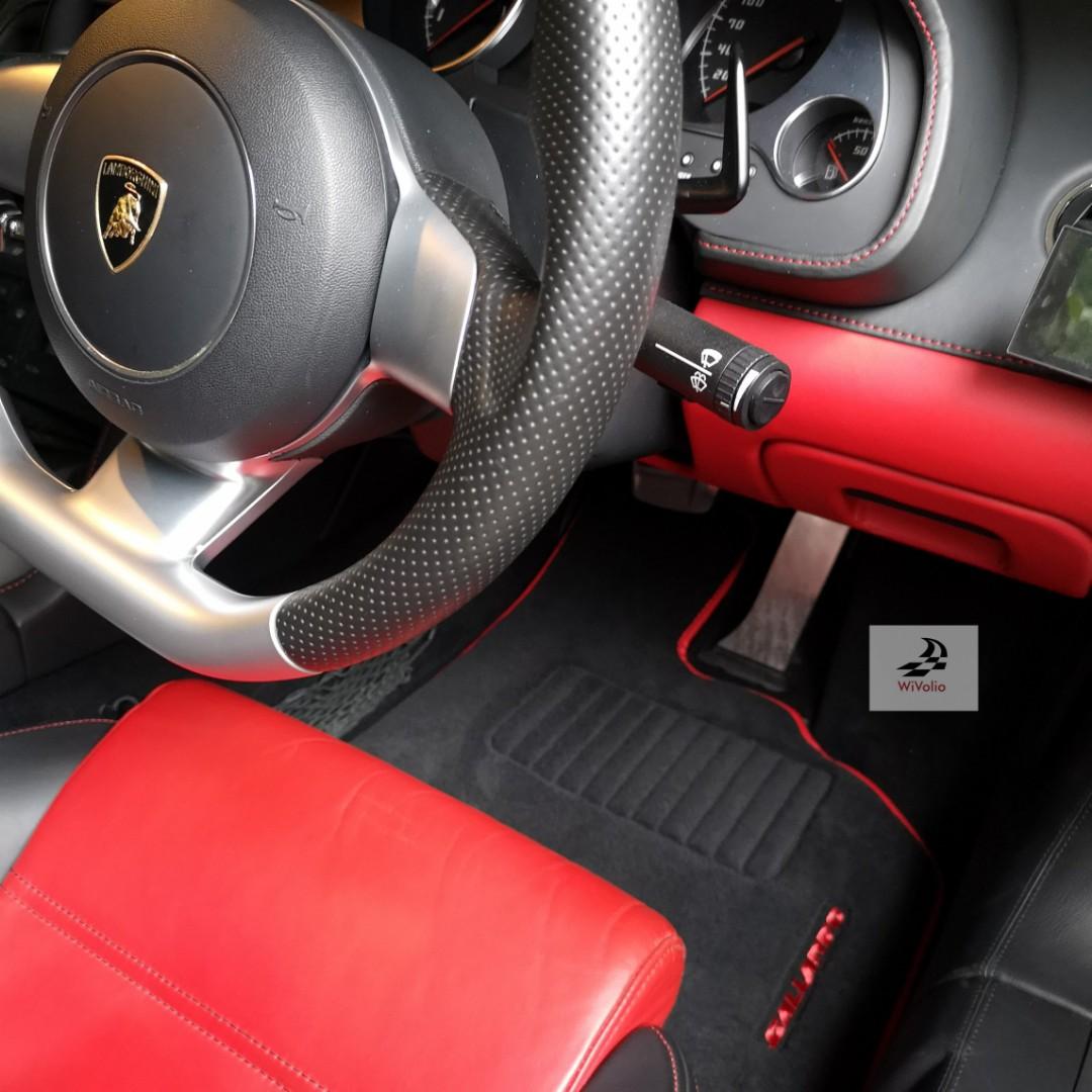 Lamborghini Car Mats Car Accessories Accessories On Carousell