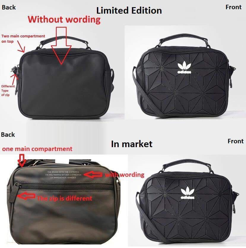 ba892c1da2 Limited Edition Adidas Mini Airliner Bag (No Wording Behind the bag ...