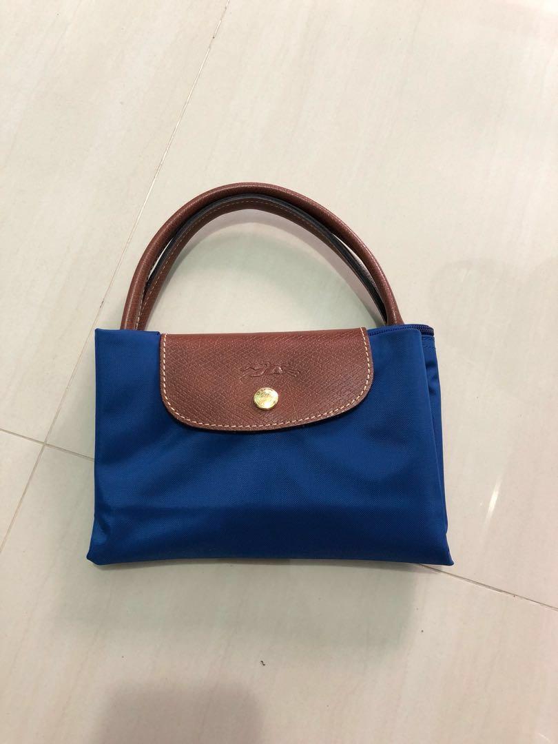 62ed425caa4d5 Longchamp Bag - Blue size M (Authentic)