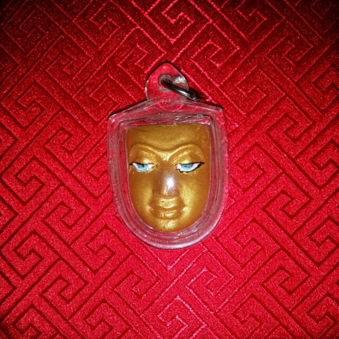 LP BOON MAK (Luang Phor Boon Mak) 1ST BATCH POWERFUL AMULET RARE & LIMITED  EDITION Direct Thai Genuine B E  2548 Wat Pho Buddha Face Amulet