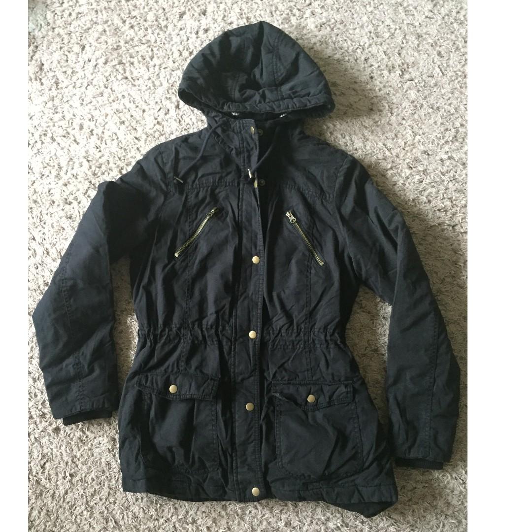 e243644ea767c Mossimo Supply Co Black Winter Jacket Size M